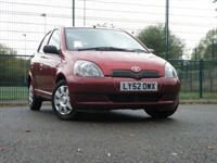 Used Toyota Yaris COLOUR COLLECTION VVT-I(LADY OWNER+F/S/H)