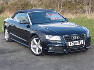 used Audi A5 TDI S LINE Convertible WINTER SALE EVENT WAS £17999 NOW £17499 in wirral-cheshire