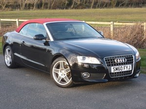used Audi A5 TDI Diesel Convertible 1 Owner Low Mileage Full Audi Dealer Service History in wirral-cheshire