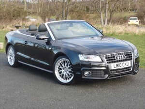 used Audi A5 TFSI S LINE Convertible 1 Owner Full Audi Dealer Service History  in wirral-cheshire