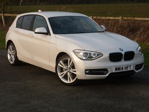 used BMW 114d SPORT WITH 2 YEARS FREE SERVICING*+ WARRANTY TO JUNE 2017** in wirral-cheshire
