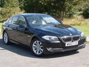 used BMW 520d SE AUTO Navigation+Leather Upholstery 1 Owner Full BMW Dealer S/History in wirral-cheshire