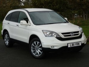 used Honda CR-V I-DTEC ES-T Navigation One Owner Full Honda Dealer Service History in wirral-cheshire