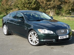 used Jaguar XF V6 AUTO PREMIUM LUXURY WITH 2 YEAR RAC WARRANTY in wirral-cheshire