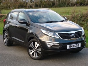 used Kia Sportage CRDI KX-3 AUTO SAT NAV Leather 1 Owner Full Service History in wirral-cheshire