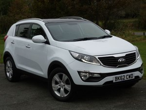used Kia Sportage CRDI 2 One Private Owner Full Kia Dealer Service History in wirral-cheshire