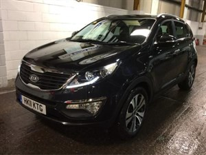 used Kia Sportage CRDI KX-3 AUTO SAT NAV Leather 1 Owner Full Kia Dealer Service History in wirral-cheshire