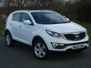 used Kia Sportage CRDI 2 WITH 2 YEARS FREE SERVICING*+ WARRANTY TO NOV 2019** in wirral-cheshire