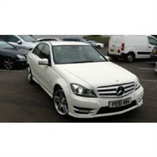 used Mercedes C180 BLUEEFFICIENCY SPORT EDITION 125 One Private Owner Full Mercedes Dealer S/H in wirral-cheshire