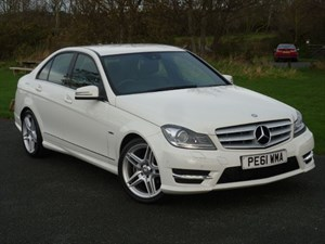 used Mercedes C180 BLUEEFFICIENCY SPORT EDITION WITH 2 YEARS FREE SERVICING* in wirral-cheshire