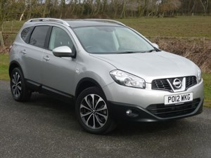 used Nissan Qashqai+2 PLUS 2 N-TEC PLUS in wirral-cheshire