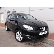 used Nissan Qashqai ACENTA DCI One Owner Full Nissan Dealer Service History in wirral-cheshire