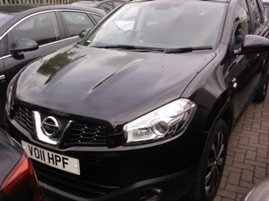 used Nissan Qashqai N-TEC+2 DCI 7-Seater One Owner Full Nissan Dealer Service History in wirral-cheshire