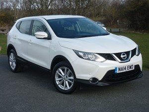 used Nissan Qashqai DCI ACENTA SMART VISION PACK WITH 2 YEARS FREE SERVICING*+ NISSAN WARRANTY  in wirral-cheshire