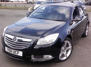 used Vauxhall Insignia SRI NAV VX-LINE CDTI ECOFLEX FULL LEATHER UPHOLSTERY in wirral-cheshire