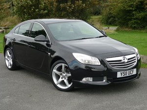 used Vauxhall Insignia SRI VX-LINE NAV CDTI FULL LEATHER UPHOLSTERY in wirral-cheshire