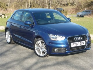 Audi A1 SPORTBACK TDI S LINE 2 YEARS FREE SERVICING BALANCE OF AUDI WARRANTY