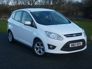 Ford C-Max ZETEC TDCI WITH 2 YEARS FREE SERVICING BALANCE OF FORD WARRANTY