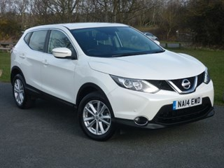 Nissan Qashqai DCI ACENTA SMART VISION PACK WITH 2 YEARS FREE SERVICING NISSAN WARRANTY