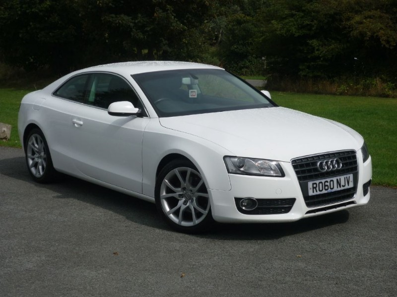 used Audi A5 TFSI SPORT Black Leather WITH 2 YEARS FREE SERVICING* in wirral-cheshire