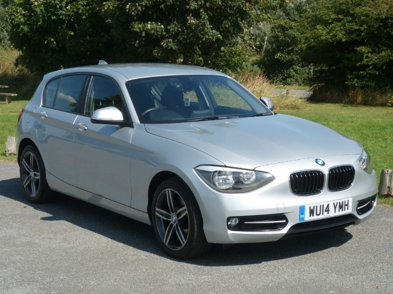 used BMW 116d 2.0 SPORT AUTO  WITH 2 YEARS FREE SERVICING*  in wirral-cheshire