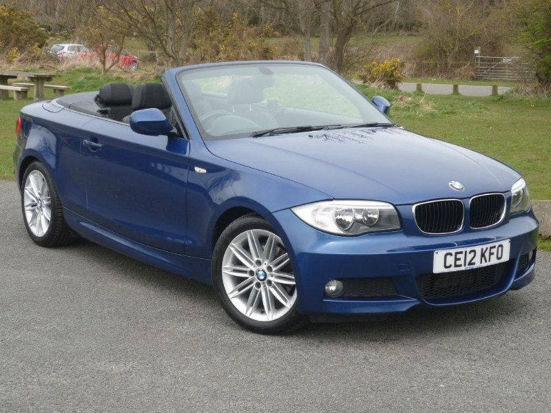 used BMW 118d M SPORT CONVERTIBLE  in wirral-cheshire