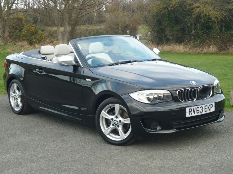 used BMW 118i Exclusive Edition Convertible WITH 2 YEARS FREE SERVICING* in wirral-cheshire