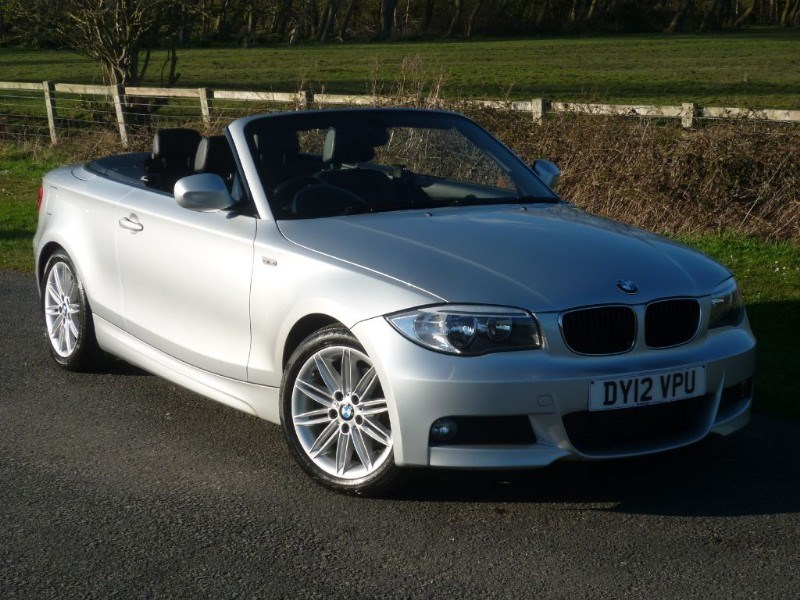 used BMW 120d M SPORT CONVERTIBLE ONE PRIVATE OWNER FULL BMW DEALER SERVICE HISTORY in wirral-cheshire