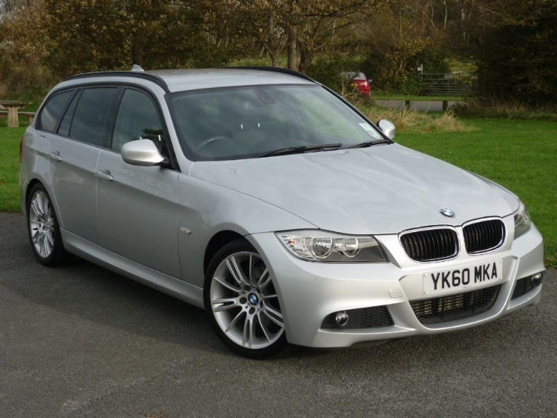 used BMW 320d M SPORT BUSINESS EDITION SAT NAV AND LEATHER WITH 2 YEARS FREE SERVICING* in wirral-cheshire