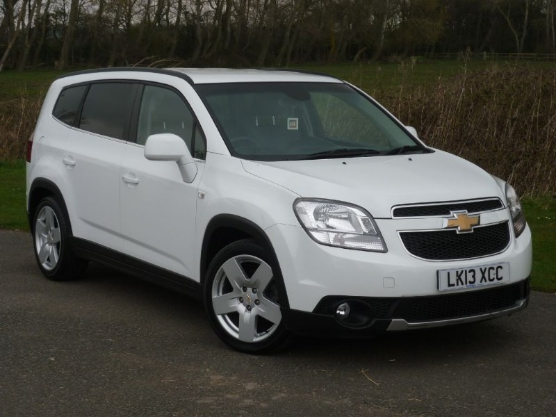 used Chevrolet Orlando LTZ VCDI AUTO [7-SEAT] Executive Pack in wirral-cheshire