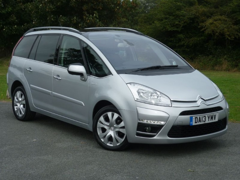 used Citroen C4 Grand Picasso GRAND PLATINUM HDI WITH 2 YEARS FREE SERVICING* in wirral-cheshire
