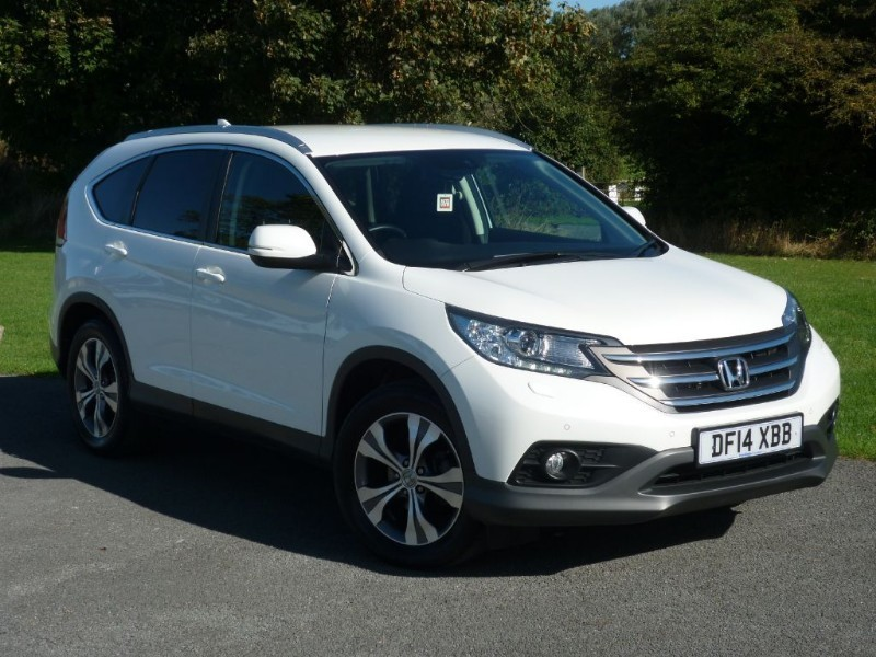 used Honda CR-V I-DTEC SR SAT NAV+REVERSING CAMERA WITH 2 YEARS FREE SERVICING* in wirral-cheshire