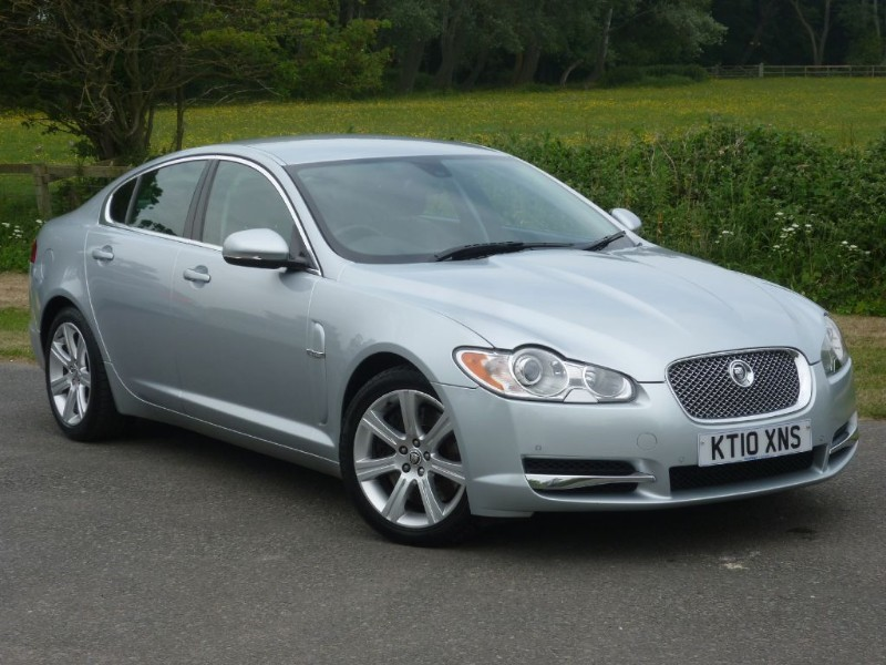 used Jaguar XF V6 LUXURY in wirral-cheshire