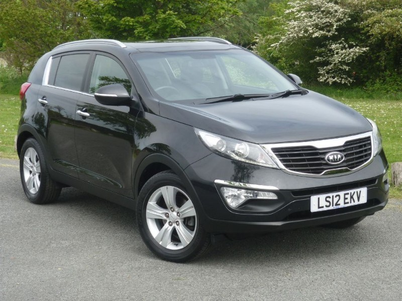 used Kia Sportage CRDI 2 in wirral-cheshire
