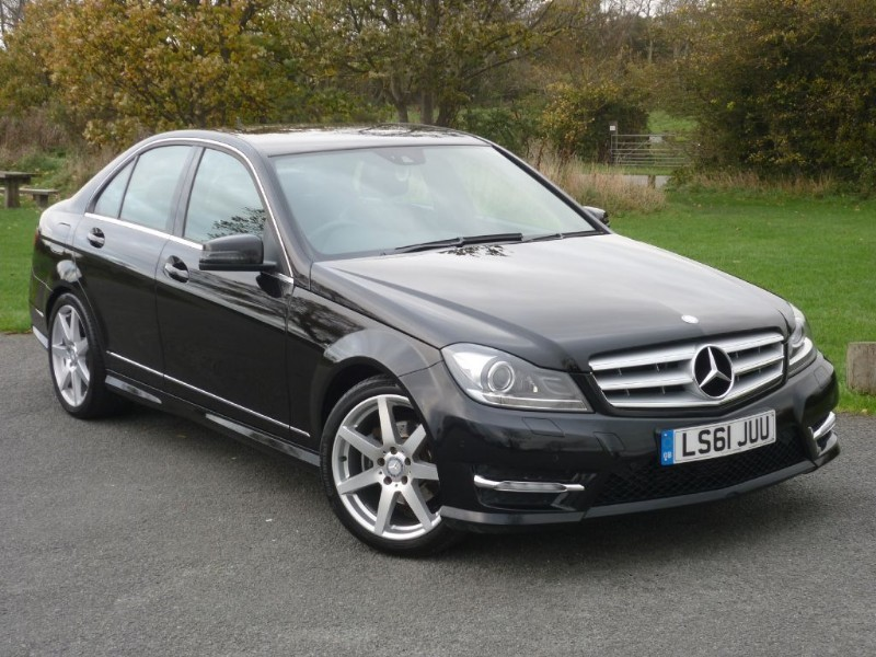 used Mercedes C180 BLUEEFFICIENCY SPORT EDITION 125 1 OWNER F/S/HISTORY in wirral-cheshire