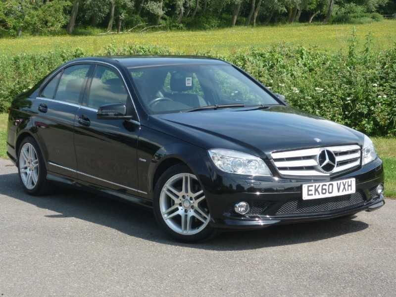 used Mercedes C180 SPORT AUTO BLUEEFFICIENCY WITH FREE MOT'S FOR LIFE* in wirral-cheshire