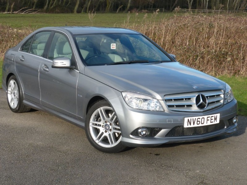 used Mercedes C220 CDI SPORT BLUEEFFICIENCY LEATHER UPHOLSTERY WITH 2 YEARS FREE SERVICING*  in wirral-cheshire