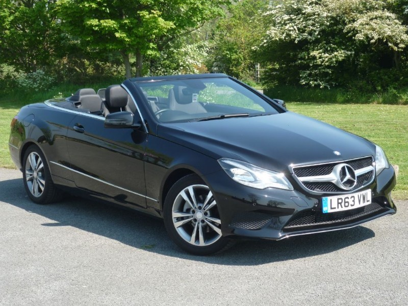 used Mercedes E220 CDI SE CONVERTIBLE MAP PILOT NAV LEATHER TRIM WITH 2 YEARS FREE SERVICING* in wirral-cheshire
