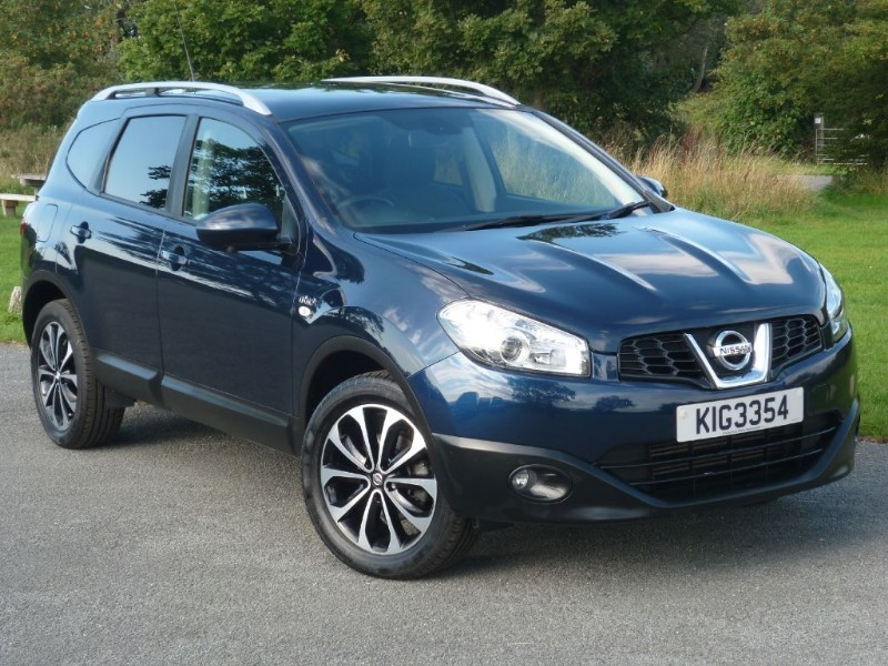 used Nissan Qashqai+2 N-Tec+ WITH 2 YEARS FREE SERVICING* 7 SEATER 1 OWNER F/S/HISTORY  in wirral-cheshire