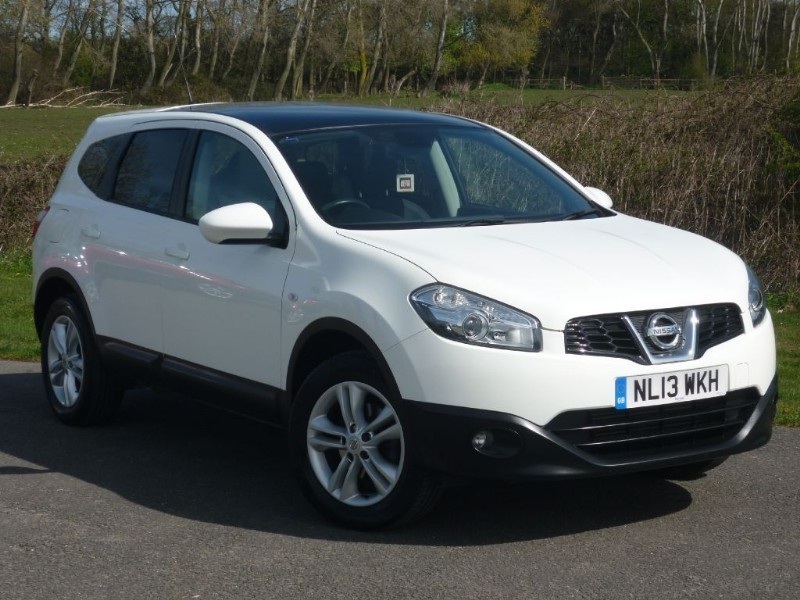 used Nissan Qashqai+2 DCI ACENTA PLUS 2 SEVEN SEAT WITH 2 YEARS FREE SERVICING* in wirral-cheshire