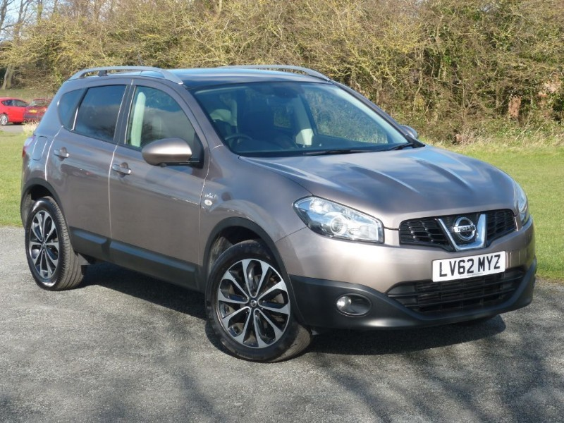 used Nissan Qashqai N-TEC + DCI WITH 2 YEARS FREE SERVICING* in wirral-cheshire