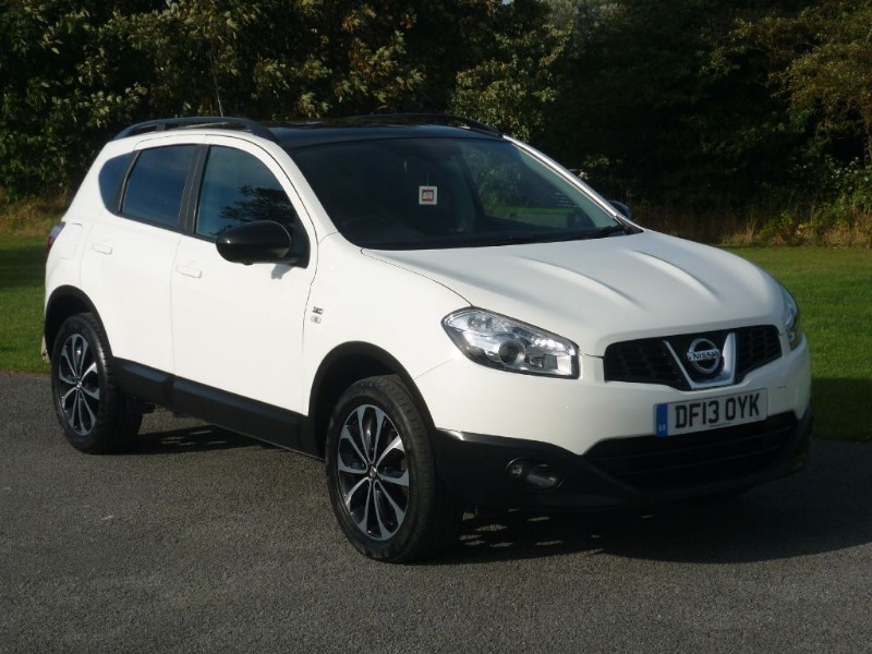 used Nissan Qashqai 360 WITH 2 YEARS FREE SERVICING* in wirral-cheshire