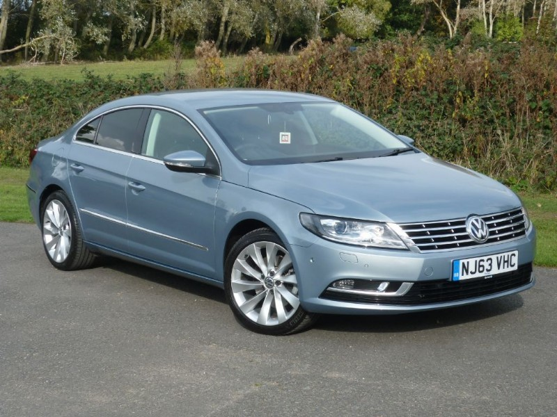 used VW CC Bluemotion Tech GT WITH 2 YEAR FREE SERVICING* in wirral-cheshire