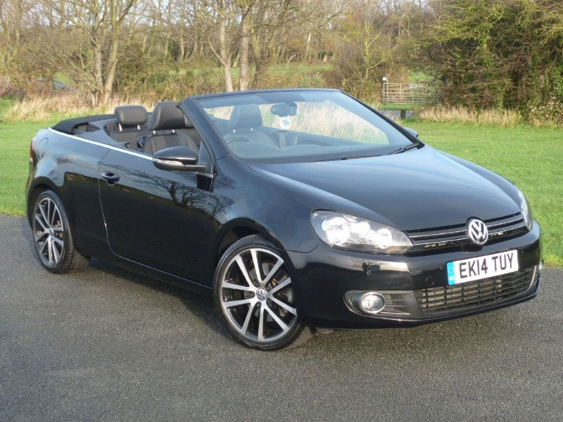 used VW Golf GT TSI CABRIOLET HUGE SAVING ON COST NEW WITH 2 YEARS FREE SERVICING* in wirral-cheshire