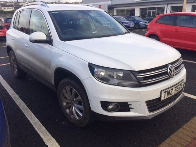used VW Tiguan Match TDI Station Wagon Auto  in wirral-cheshire