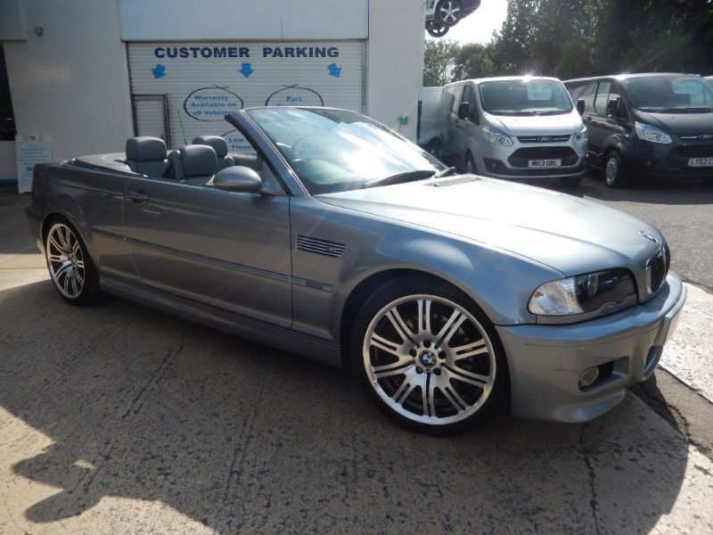 used BMW M3 CAB, SMG, LOW MILEAGE. in wiltshire