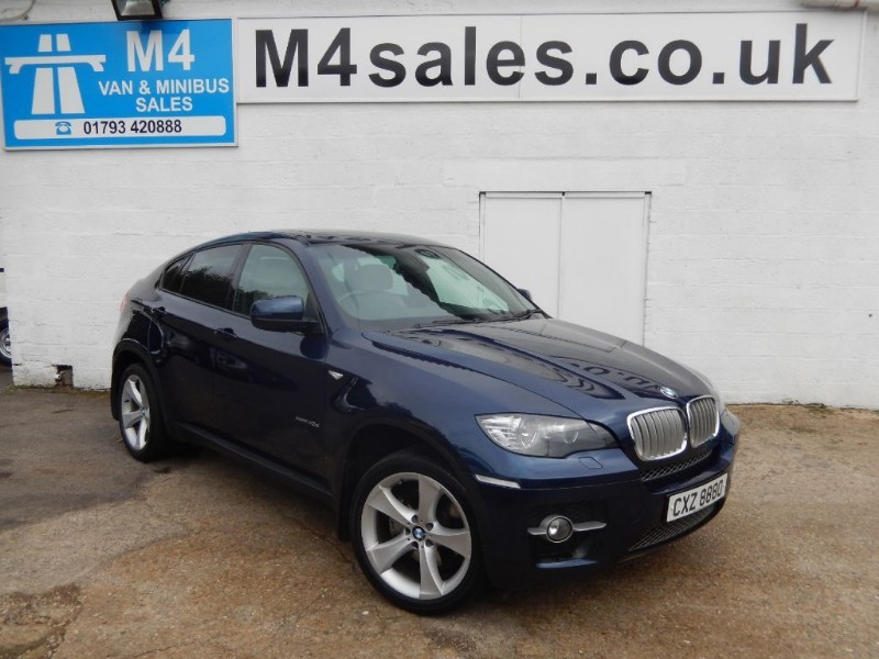 used BMW X6 XDRIVE 40D AUTO COUPE in wiltshire