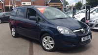 Used Vauxhall Zafira 1.6i (115) Exclusiv 5dr