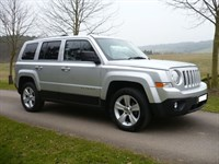 Used Jeep Patriot CRD LIMITED Leather interior