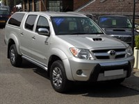 Used Toyota Hilux 3.0 D4D Invincible - NO VAT - WITH CANOPY - 44k MILES - LEATHER